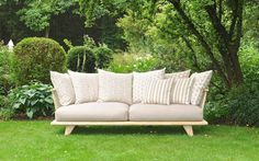 HUG-ME Lounge-Gruppe Outdoor Sofa, Outdoor Furniture, Outdoor Decor, Modern, Lounge, Home Decor, Group, Recyle, Wood