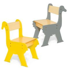 To go with the table. Safari Collection - Duck and Ostrich Chairs