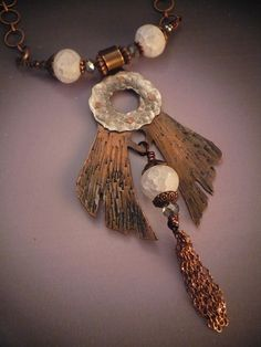 Chilling Touch Necklace by Allison L Norfleet Bruenger Collections
