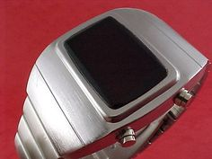 and 24 hour mode. not lcd backlit). All of our watches are water resistant, the definition of this being that the watch willresist though not entirely prevent the penetration of water. Retro Watches, Rolex Watches For Men, Vintage Watches, Cool Watches, Led Watch, Vintage Fashion, Vintage Style, Time Shop, Apple Watch