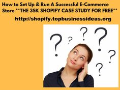 Are you looking to build a Shopify Store? Learn How to Set Up & Run A Successful E-Commerce Store... Check the link in the picture. Watch this video to learn how to get this E-Commerce Store Ideas training  for FREE! #e-commerce #e-commercestore#onlinestore#onlinebusiness#internetmarketing#shopify#shopifystore#successfule-commerce#casestudy#topbusinessideas