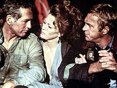 THE TOWERING INFERNO photo   Paul Newman