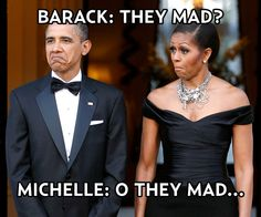 "The Obamas' ""They Mad"" Faces Photo - Celebrity Memes: The Funniest ..."