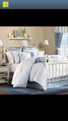 Beach theme bedroom!