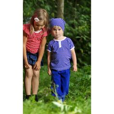Metsola SS13: Pipo, dots blue (0-1 - 6-8y)  www.metsola.co Dots, Spring Summer, Blue, Collection, Stitches, Polka Dots