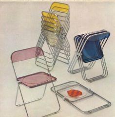 Plia Chair, Giancarlo Piretti 1967.