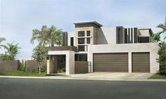 House Plans For Sale, Modern House Plans, Modern House Design, Kit Homes Australia, House Plans Australia, 4 Bedroom House Plans, Room Planning, Home Cinemas, Large Bedroom