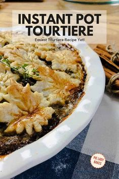 How do I make a tourtiere? This is the most delicious and authentic french meat pie recipe! A holiday classic this is the best Tourtiere Recipe. Puff Pastry Recipes, Pie Recipes, Fall Recipes, Cooking Recipes, Delicious Recipes, Copycat Recipes, Holiday Recipes, Recipies, Canadian Dishes