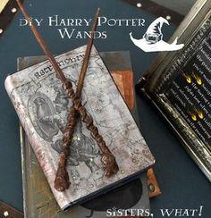 Cómo hacer una varita mágica al estilo Harry Potter   Aprender manualidades es facilisimo.com