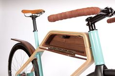 Leave it to RUPHUS, an interior/product design studio from that epicentre of American bicycle culture, Portland, to create a feasible, eye-pleasing and alternate frame out of wood, no less.