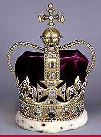 Crown of the King of England--I think this is tastefully done. I think I'd like one...