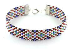 Navajo beadloom bracelet