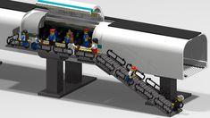 Hyperloop Pod and Station