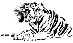 Tiger Big Cat Wild Beast Animal Lioness Kids Children's