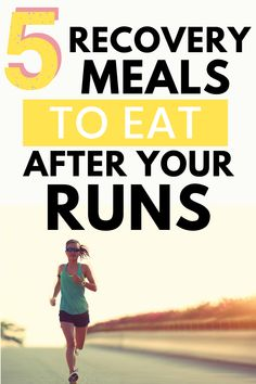 Nutrition for runners can be a complicated topic, but make it easier by reading up on these nutrition tips about recovery meals! Find practical post run meal and snack ideas. Marathon Diet, Half Marathon Training Plan, Marathon Recovery, Marathon Nutrition, Running Injuries, Running Workouts, Running Tips, Sports Nutrition, Nutrition Tips