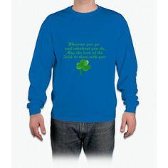 Irish Poem- funny saint patrick day shirt Long Sleeve T-Shirt