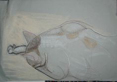 one of my sketches 2007 .sold