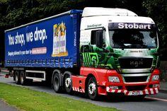 Eddie Stobart Trucks, Cool Trucks, Jasmine, Camper, Vans, Vehicles, Caravan, Travel Trailers, Van