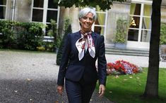 Christine Lagarde: the Coco Chanel of world finance could save Sarko; French Minister Christine Lagarde in Paris, 2009; Sipa Press