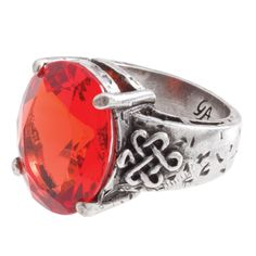 The Grace Adele Celtic Ring in orange but I'd rather have it in green.