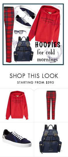 """""""Cold mornings"""" by krista-zou on Polyvore featuring Burberry"""