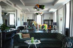 Amigas do Closet: Apartamento vibrante em Moscovo #casa #decor #decoração #design #designdeinteriores #home #interiordesign