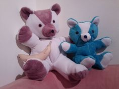 use this tutorial to make a bear out of kids sleepers