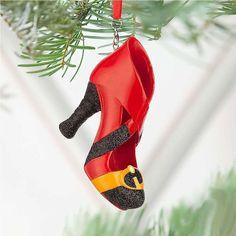 Incredible Shoe Ornament - Pixar The Incredibles - NIB Disney Shoe Ornaments, Disney Christmas Ornaments, Christmas Ideas, Peanuts Christmas, Christmas Time, Christmas Decor, Christmas Gifts, Disney Princess Shoes, Disney Shoes