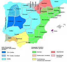 Ethnographic Iberia 200 BCE - Anexo:Cronología de los reinos en la península ibérica - Wikipedia, la enciclopedia libre