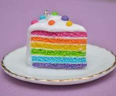 Fimo idea_raimbow cake *w*