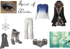 """""""Spirit of Winter"""" by disappeairinginq on Polyvore"""