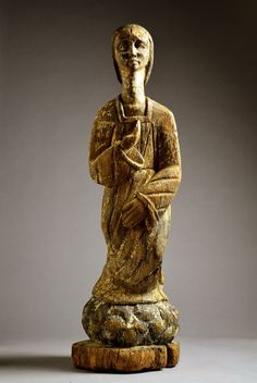 "Africa | ""Congolese Madonna"". From DR Congo or Angola 