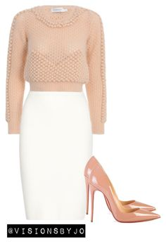 """""""Untitled #1090"""" by visionsbyjo on Polyvore featuring Jonathan Simkhai, Christian Louboutin and Zimmermann"""