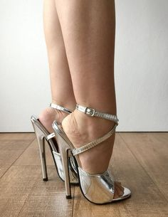 This article is not available – Shoes Office Sexy High Heels, Extreme High Heels, Sexy Legs And Heels, Beautiful High Heels, Silver High Heels, High Heel Boots, Shoes Heels Boots, Stilettos, Talons Sexy