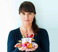 Portrait de Jacqueline Schäfer et de son strange bird