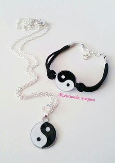 Collana + bracciale Yin Yang #yinyang #tao #taichi