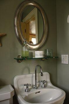 1000 images about pedestal sinks on pinterest pedestal for Floating pedestal sink