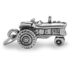 Oxidized Tractor Charm from Princess Mel for $22.00
