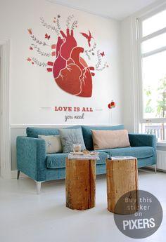 Heart - sticker inspiration from PIXERSIZE.com