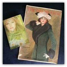 Hope has big dreams of becoming a fashion designer and seeing her designs included in the popular women's magazine, The Delineator. While visiting family in my hometown that inspired this series, we discover this 1912 copy in an old trunk.
