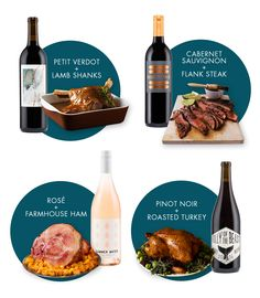 These Thanksgiving wine pairings will help you celebrate the holiday in style! One Glass Of Wine, Wine Logo, Make Your Own Wine, Different Wines, Lamb Shanks, Wine Guide, Wine Design, Cheap Wine, Wine Parties