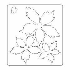 Resultado de imagen para patrones de flores de navidad en foami