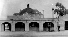 Berkeley's Santa Fe Railway Depot, designed in 1904 by Charles Whittlesey (an innovator in reinforced concrete design, chief architect for the Santa Fe Railroad and designer of the Grand Canyon's El Tovar Lodge). The Santa Fe Railroad provided three-day passenger and freight service between Chicago and the Bay Area. This station was one of three major rail stations in Berkeley. It was closed in 1964 and converted to a restaurant. In 2003, the Berkeley Montessori School renovated the…