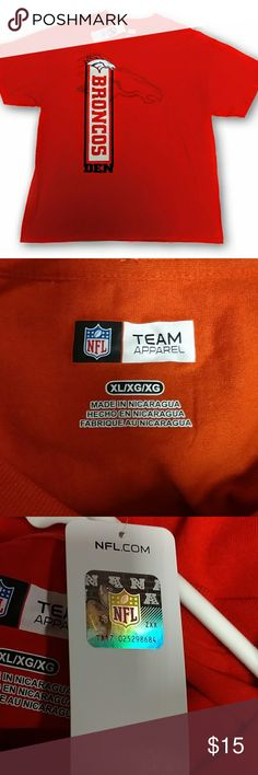 Denver Broncos Mens Athletic Tee NWT XL Ships same day as purchase. Officially Licensed NFL product NFL Shirts Tees - Short Sleeve