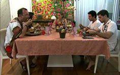 No jantar baiano de Renata, a sobremesa deu o que falar