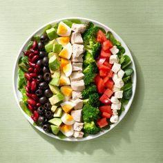 Salad idea http://www.ultimate-health-fitness.com/healthy-living/relish-good-living-with-a-rainbow-colored-diet.html