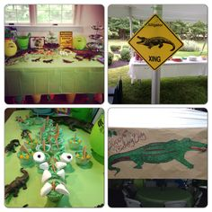 This is for anyone who ever needs ideas for an alligator party! Lol