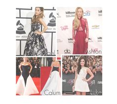 """""""5sos-Your Red Carpet Dress."""" by reydel ❤ liked on Polyvore featuring 5secondsofsummer and 5sospreference"""