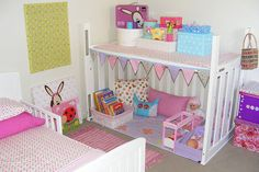 Reuse crib...I sorta want to do this NOW but boyish