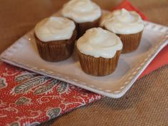 These gluten free carrot cake cupcakes are delicious and easy to make.
